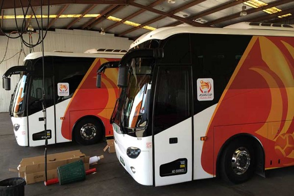 AFC Asian Cup Fleet Transport