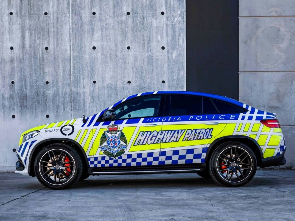 Mercedes-Benz Australia joins forces with Victoria Police