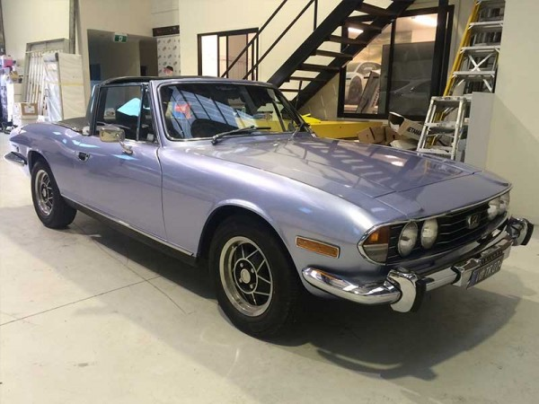 Triumph Stag Gets a Makeover