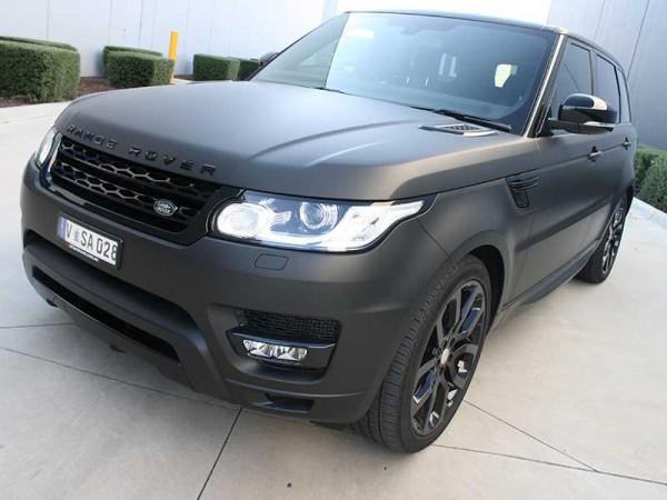 Range Rover Full Colour Change